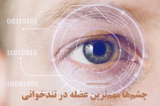 نقش چشم ها در تندخوانی